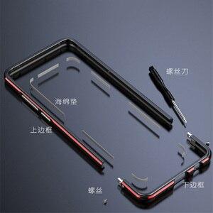 Image 2 - Voor Huawei mate 30 Case Metalen Frame Dubbele Kleur Aluminium Bumper Bescherm Cover voor Huawei mate 30 Case