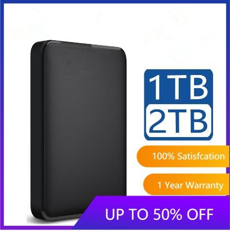 Disque dur externe Portable HD 1 to 2 to haute capacité SATA USB 3.0 dispositif de stockage Original pour ordinateur Portable