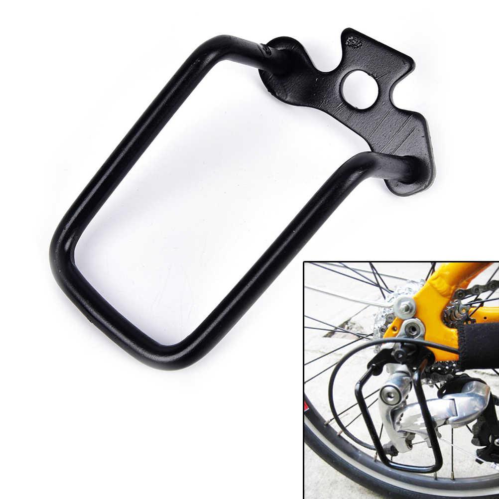 Mountainbike Fietsen Transmissie Bescherming Fiets Derailleurhanger Chain Gear Guard Protector Cover Ijzeren Frame
