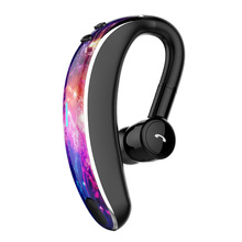 Bluetooth 5.0 Wireless Earphone Single-Ear ,Hands Free Business Headset 20 Hours Play Time For Business/Driving