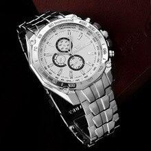 Orlando Men Watches Fashion Business Stainless Steel Quartz erkek kol saati horloges mannen orologio uomo