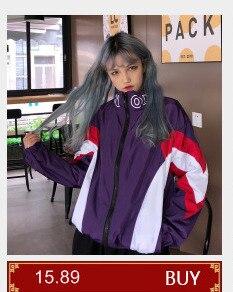 Ha92382d3a6ad4c888919abcdcaa08e36L #5601 Summer Sunscreen Windbreaker Women Korean Fashion Thin Coat School Harajuku Baseball Hip Hop Jacket Streetwear