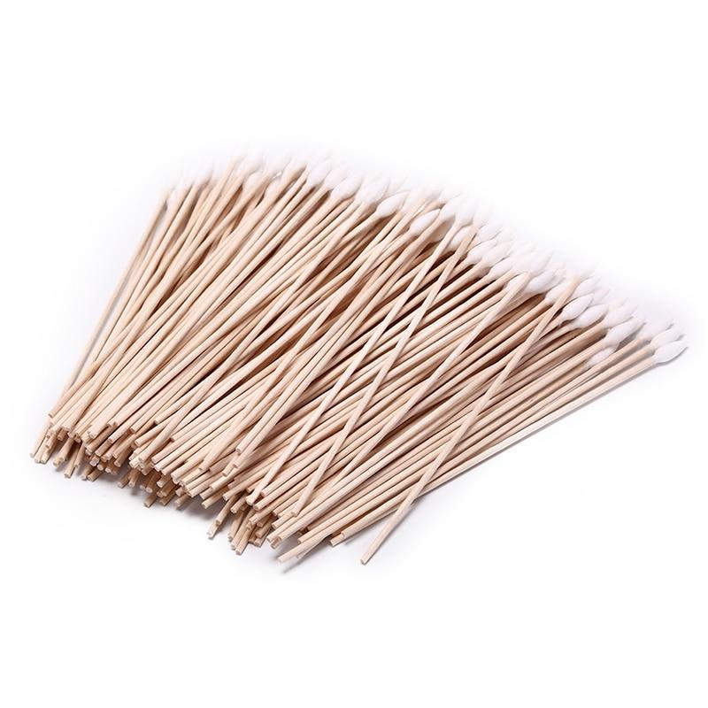 200pcs/lot Useful 15cm Gun Cleaning Cotton Swabs Large Tapered Swabs Gun Clean Brush