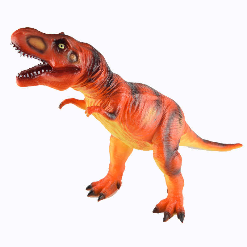 Nieuwe Stijl Grote Size Model Soft Silcone Dinosaurus Model Speelgoed T-Rex Stegosaurus Pterosaur Model Ornamenten Nieuwjaar Gift