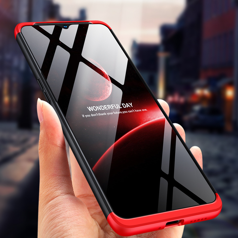 360 Degree Full Body Cover Case For Oneplus 7T 7 Pro 6 6T 5T 5 Shockproof Hard Front+Back Double-sided Tempered Glass Case Cover