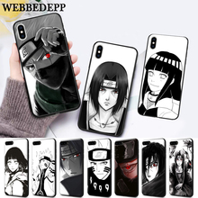 WEBBEDEPP naruto New Arrival Silicone soft Case for iPhone 5 SE 5S 6 6S Plus 7 8 11 Pro X XS Max XR