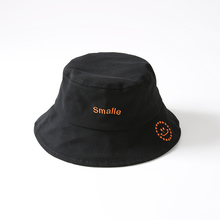 2019 Smile Bucket Hat Women Outdoor Sunscreen Cotton Unisex Summer Foldable Fishing Hunting Cap Men Chapeau Sun Prevent Hats