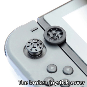 Image 4 - 6pcs/set Replacement Joystick Cover Game Rocker Cap for Nintend Switch Game Console Repair Accessories Grip Protectors
