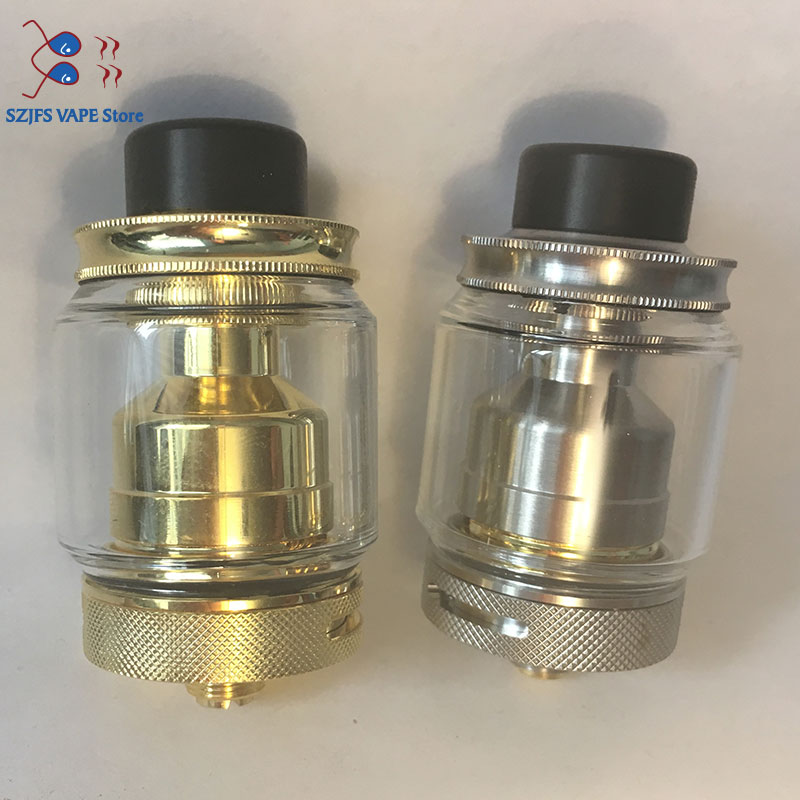 Zeus X RTA 4.5ml Tank Capacity With 810 Drip Tip Electronic Cigarette Atomizer Upgrade Zeus Dual VS Kylin M V2 Petri Qp M25 RTA