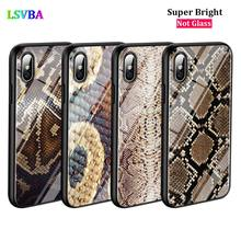Black Cover Yellow Gold Snake skin for iPhone X XR XS Max for iPhone 8 7 6 6S Plus 5S 5 SE Super Bright Glossy Phone Case black cover japanese samurai for iphone x xr xs max for iphone 8 7 6 6s plus 5s 5 se super bright glossy phone case