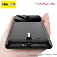 QuLing-funda de batería para OnePlus 8 Pro, 10000 Mah