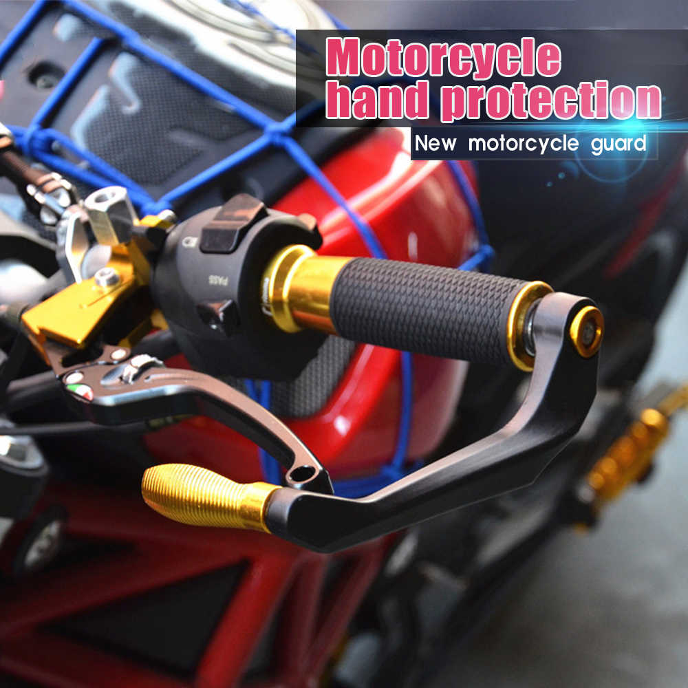 Z53 Motor 22 Mm Handguard Skuter Hand Guard ATV Pelindung untuk KLX 250 Honda Dio 27 Suzuki SV Roh Binatang vespa Cafe Racer