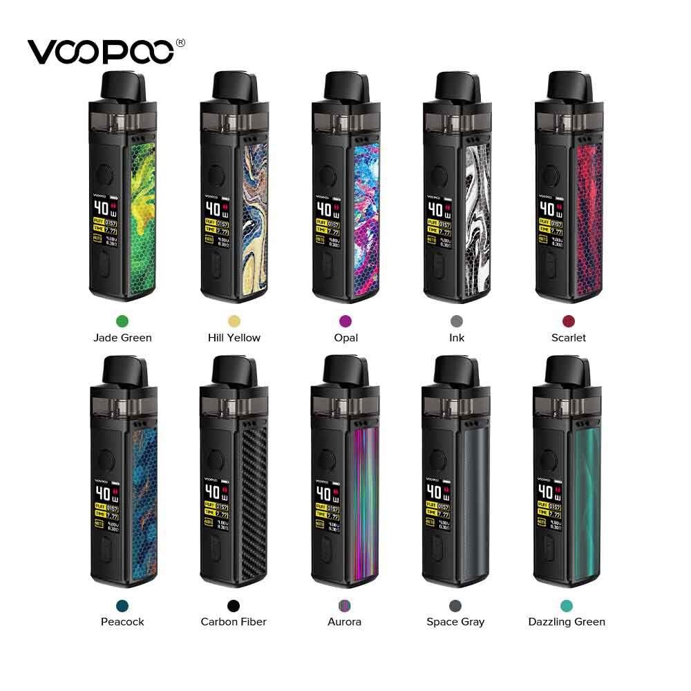 Original VOOPOO VINCI vape Kit 1500mah battery with 5.5ml pod Cartridge Electronic Cigarette box mod kit PnP Coil vaporizer