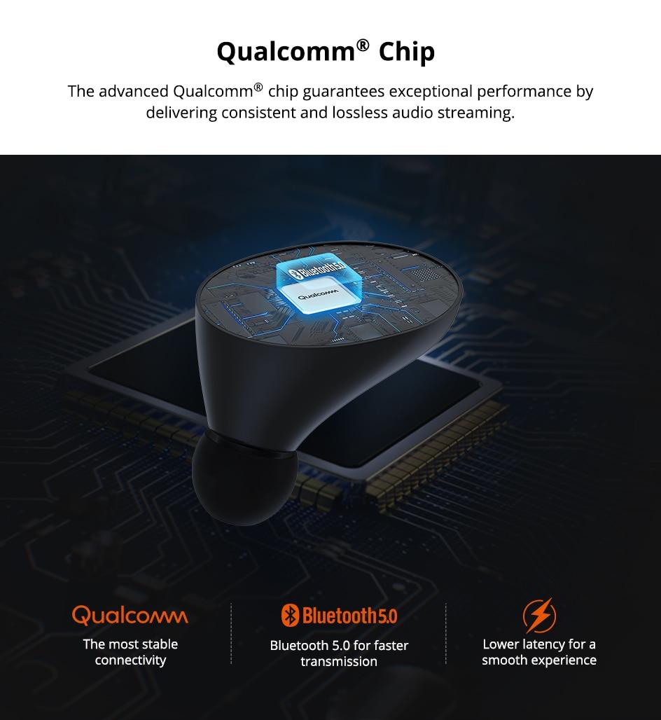 Tronsmart Spunky Beat TWS Bluetooth 5.0 Earphone APTX Wireless Earbuds with QualcommChip CVC 8.0 Touch Control Voice Assistant (2)