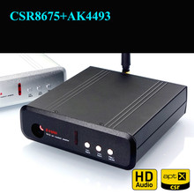 Ghxamp csr8675 + ak4493 ultimate bluetooth 5.0 디코더 보드 dac 지원 usb 사운드 카드가있는 aptx hd 케이스