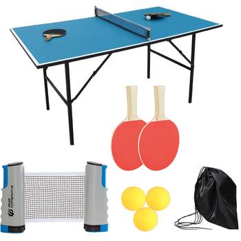 Ostrze tenis stołowy rakieta Ping Pong gumy wiosła przenośny zestaw do tenisa stołowego 1 7M chowany netto na trening treningowy tanie i dobre opinie Przypadku table tennis racket case