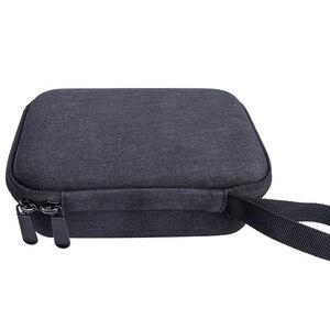 Image 4 - Saco de armazenamento fecho com zíper caso de transporte anti poeira em casa difícil eva com alça portátil bolsa viagem para kidizoom câmera pix