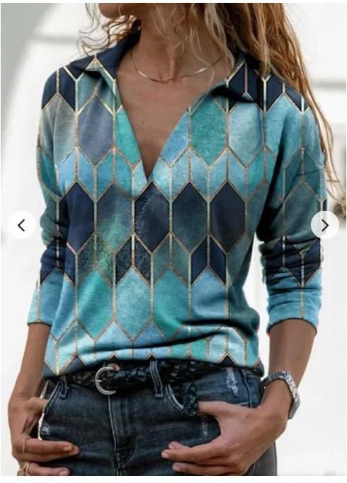 Aprmhisy Graphic Shirts Women Autumn New Long Sleeve Casual Streetwear Blouse Shirt Blusas Femininas 29