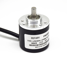 цена на 600 Pulse Incremental Photoelectric elevator Rotary Encoder 5-24V Coupling Optional NPN,AB Two Phase 600ppr LPD3806-600BM-G5-24C