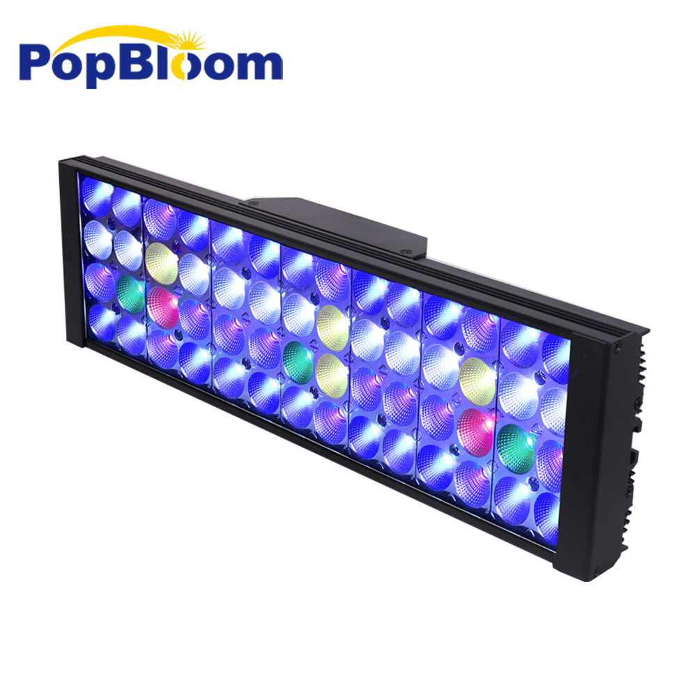 Shannon40 Marine Led Light Aquarium Lamp Led Lights For Aquarium Led Lighting Fish Tank Reef Coral Lights Remote Lightings Aliexpress