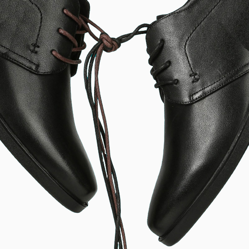 Waxed Cotton Round Shoelaces Leather Shoes Boots Casual Shoes Lace Fashion Classic Unisex Waterproof Leather Shoe Laces