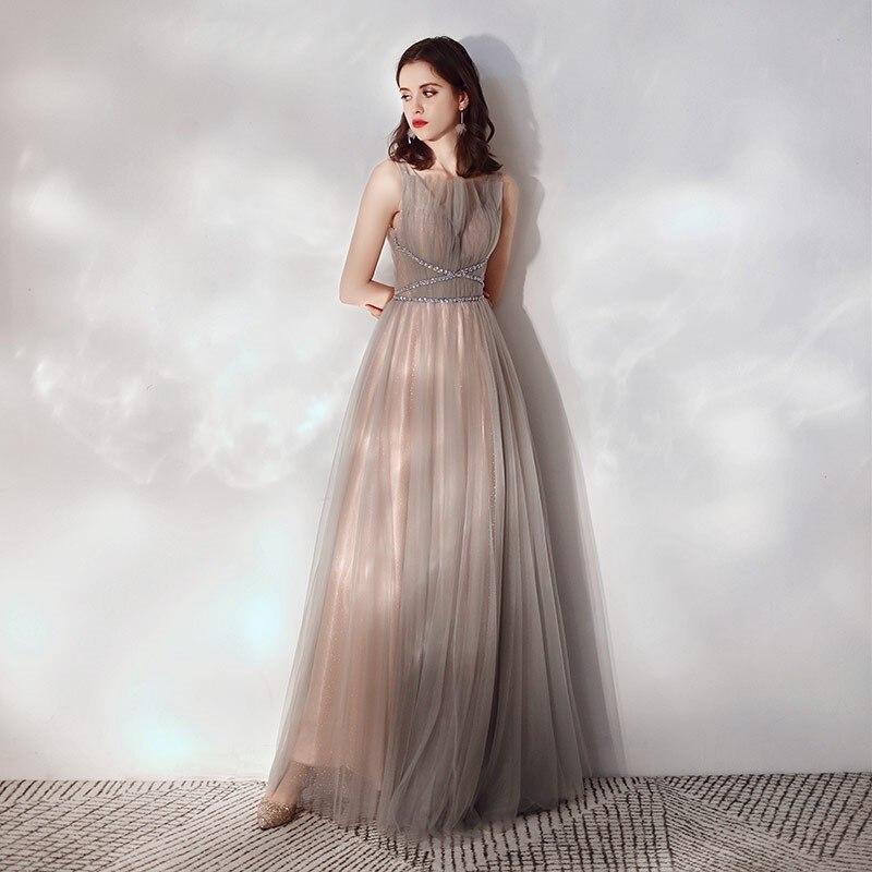 Очаровательные платья на выпускной с бисером и кристаллами, новый дизайн 2020, Свадебные Платья для подружек невесты, вечерние платья из тюля