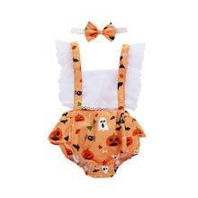 Комбинезон пачка для новорожденных девочек 0 24 мес на Хэллоуин