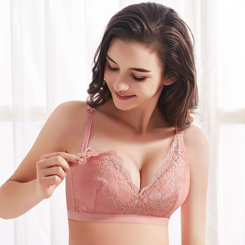 ZTOV Maternity Breastfeeding Bra Nursing Bra For Feeding Pregnancy Women Clothes Underwear Pregnant Women Girdle Intimates 95C
