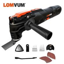 LOMVUM Multifunction Tool 12V Renovator Cordless Electric Saw Woodworking Power Tools Oscillating Trimmer Renovation Tool DIY