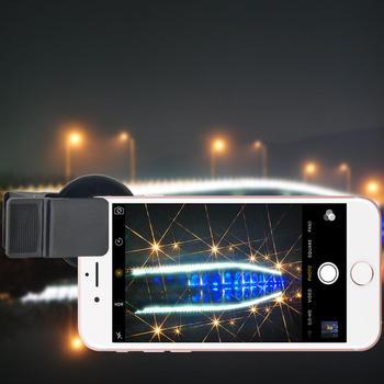 Obiektyw telefonu filtr filtr kamery filtr gwiezdny Zomei Pro obiektyw aparatu telefonu filtr 37mm 4 6 8 linii filtr gwiezdny s z klipsem tanie i dobre opinie Urządzenia iPhone Apple Blackberry Motorola Nokia Palm SAMSUNG Do telefonów SONY-ERICSSON