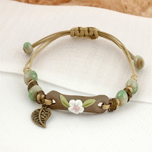 CHENFAN Sells Simple Fashion Handwoven Ceramic Small Jewelry Bracelet for Womens Bracelets Handmade ceramic bracelet