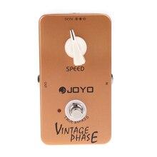 Gitara pedał efektów JOYO JF 06 w stylu Vintage fazy pedał efektów gitarowych Phaser efekty pedał gitary true bypass akcesoria gitarowe