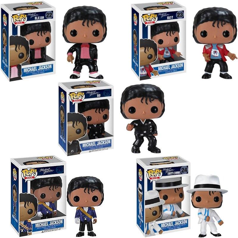 Funko POP Thriller malo peligroso MICHAEL JACKSON vinilo muñeca acción figura colección modelo BoysToys para niños regalo de Navidad
