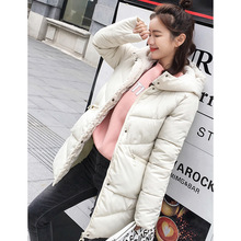 Coat Winter Long-Sleeve Snow-Wear Warm Cotton Women Casual Solid Zipper Thick Tops