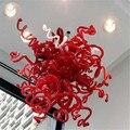 Изысканное искусство итальянская люстра огни выдувная стеклянная люстра Современные светодиодные люстры  потолочные светильники