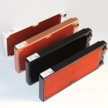 Ke Ruiwo Katyusha Series 240mm Full Red Copper Radiator Water Cooling Radiator Suitable For 120mm Fans