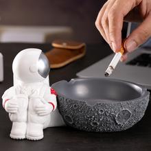 Nordic Popielniczka z żywicy śliczne kreskówki spersonalizowane kreatywny Popielniczka salon Popielniczka Home Decoration Popielniczka DA60YHG cheap CN (pochodzenie) ashtray ROUND Przenośne ceramic Resin