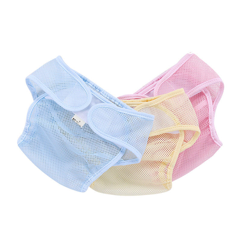 Soft Breathable Leakproof Cute Pocket Nappy Washable Cloth Reusable Baby Diaper