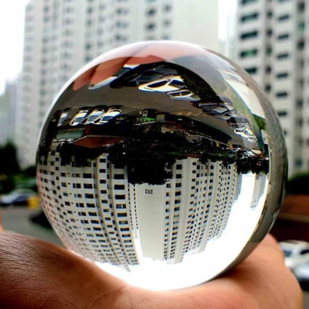 Transparan Bola Kristal Kerajinan Kustom Pribadi Ruang Kantor Dekorasi Berwarna Light Ball