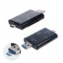5in1 Type C OTG USB 3.0 Card Reader Micro SD Adapter For Computer Connector TF Card SD Memory Card Reader Laptop Accessories