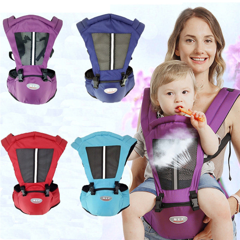2019 Brand New Newborn Baby Carrier Sling Wrap Backpack Front Back Chest Ergonomic Multifunction Breathable Carriers All Season