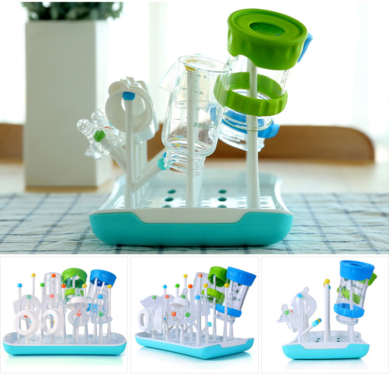 Image 3 - Baby Feeding Bottle Dryer Stand for Bottles Botellero Baby Bottle Drying Rack Storage Etendoir A Linge Infant Milk Nipple DryerDrying Rack   -