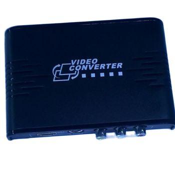 Sygnał wizyjny RCA i konwerter S-VIDEO na HDMI AV S-VIDEO na 1080P ekskluzywny konwerter Av przełącznik Audio wideo dla HDMI tanie i dobre opinie Kan Do CN (pochodzenie) Brak 363A Konwerter wideo black support China (Mainland) Other