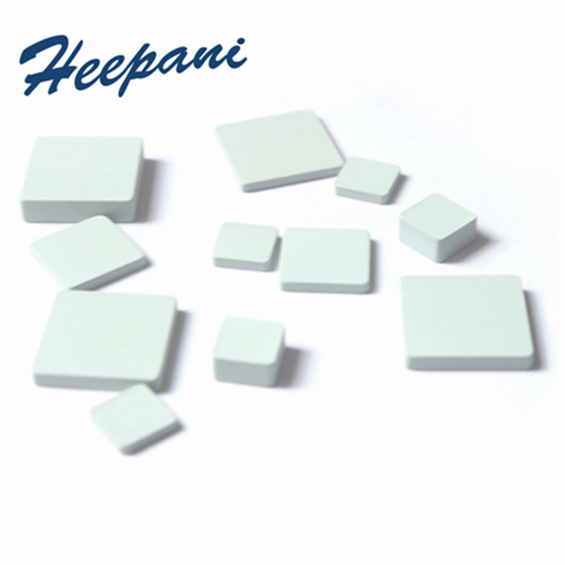 Customize Silicon Carbide Ceramic Sheet 10x10 / 15x15 / 60x60mm SiC Heat Sink Thermal Insulating Plates Micropore Radiator