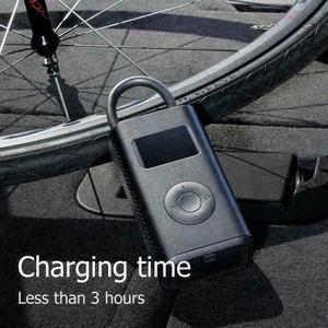 Image 5 - מקורי xiaomi Mijia Inflator נייד חכם דיגיטלי צמיג לחץ חיישן חשמלי אופנוע אופנוע מכונית כדורגל
