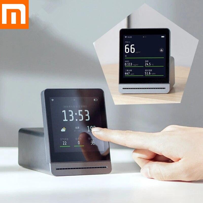 Xiaomi Mijia ClearGrass Detector de Ar Retina IPS tela de Toque Monitor de Tela Sensível Ao Toque Celular Operação Interior Ao Ar Livre Claro Grama Ar