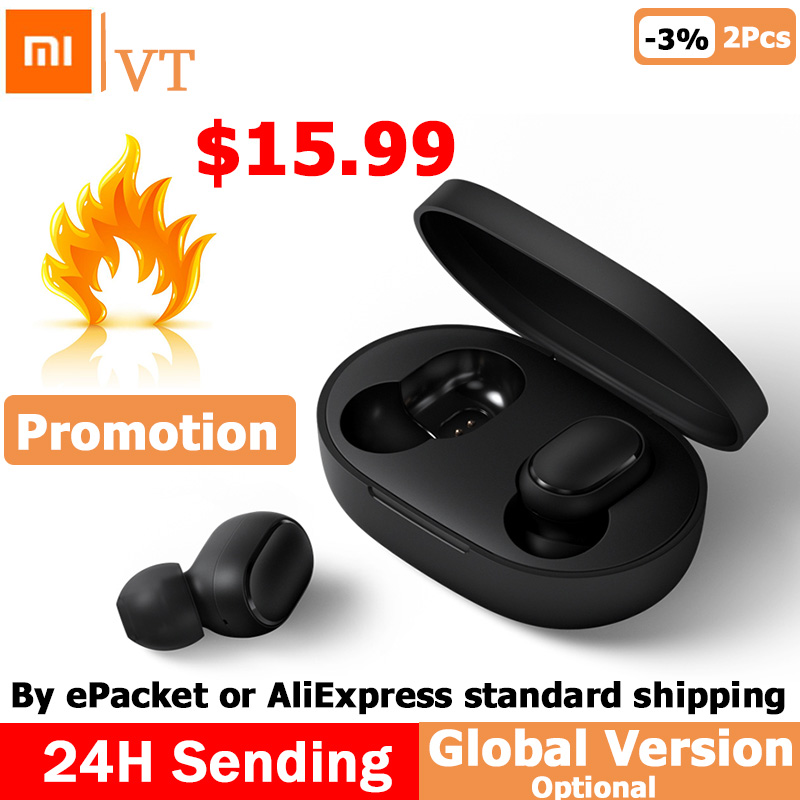Xiaomi Redmi Airdots TWS Bluetooth Earphone Youth Version Stereo MI Mini Wireless Bluetooth 5.0 Headset With Mic Earbuds Yamaha XSR900