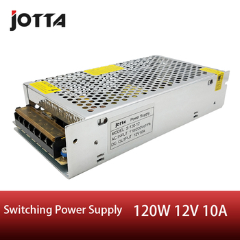 цена на 120W 12V 10A switching power supply LED Strip AC to DC source power Adapter
