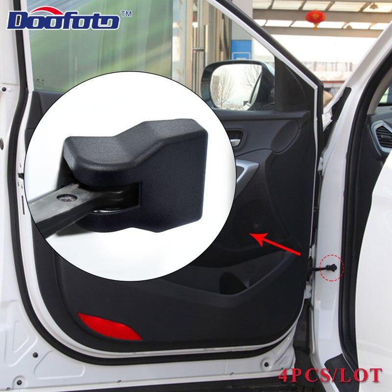 Doofoto 4X автомобильный рычаг дверной замок ограничитель крышки для hyundai Tucson i30 i10 Solaris i20 Kona ix25 аксессуары Стильный чехол