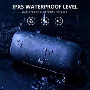 Image 2 - NBYลำโพงบลูทูธแบบพกพาสเตอริโอไร้สายลำโพงเสียงระบบลำโพงกันน้ำกลางแจ้ง10W Music Surround